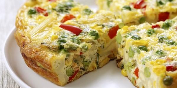Marokkaanse omelet met groenten