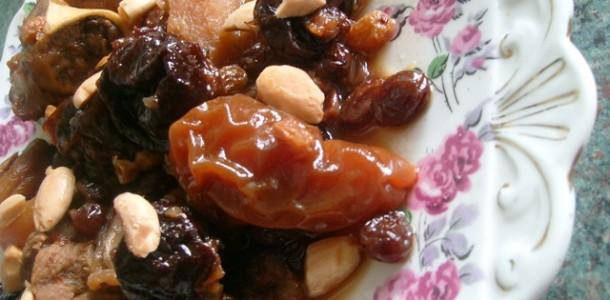 Tajine Lhem bel barkouk (vlees met pruimen)