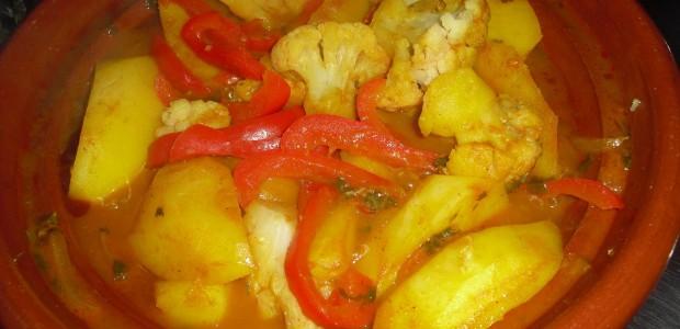Tajine met aardappelen