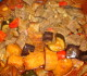 Tajine met kip en aardappelen