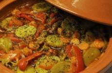 Vegetarische tajine