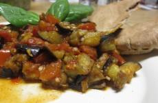 Zalouk (gegrilde aubergine-paprikasalade)